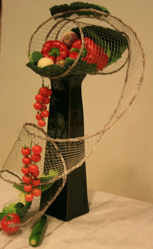 Des l gumes pour vos bouquets inspirations florales - Decoration legumes pour buffet ...