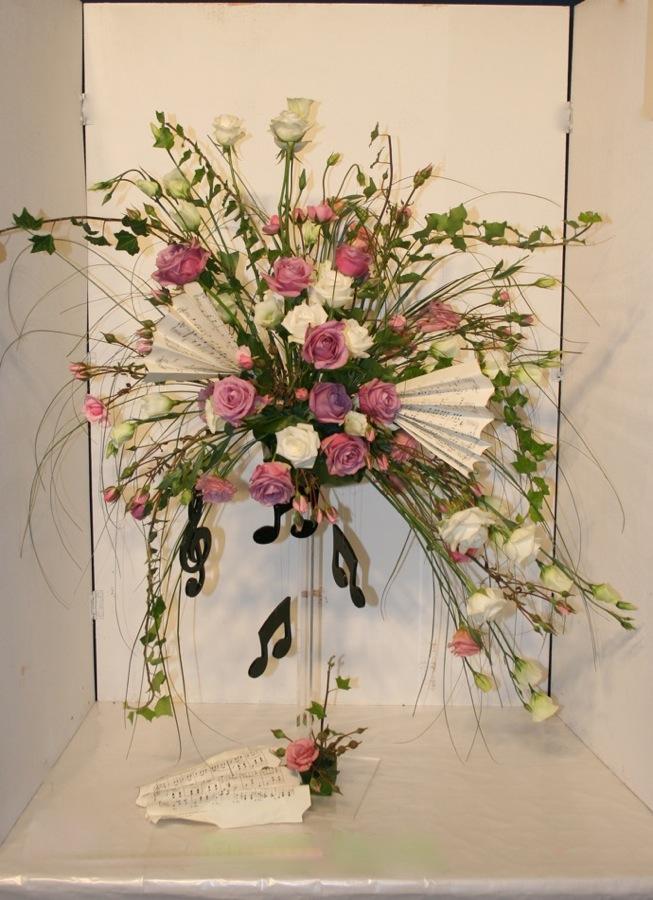 Art floral villemomble inspirations florales for Lisianthus art floral