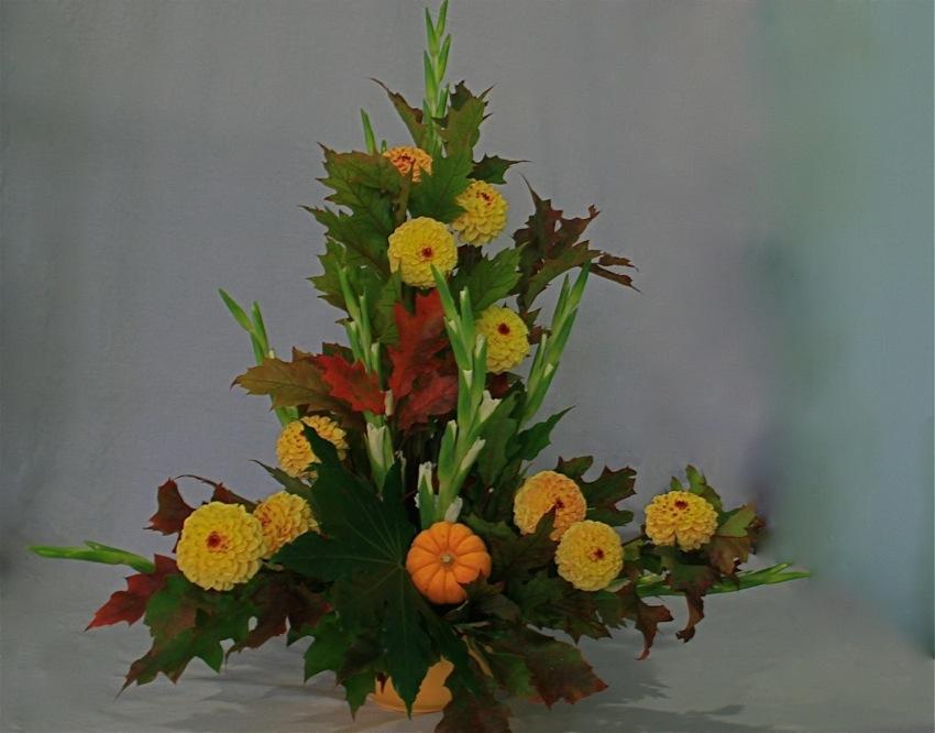 Couleurs d 39 automne inspirations florales - Composition florale automne ...