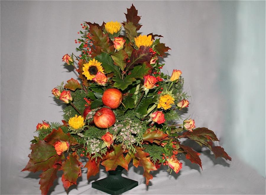 Bouquet d automne art floral awesome dcouvrez les photos de la composition florale rouleau - Composition florale automne ...