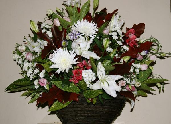 inspirations florales-panier-vannerie-bouquet