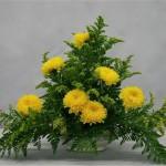 Le choix des fleurs détermine un style : rustique ou sophistiqué.