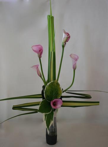 Bouquet typique du style Rumiko : structure en forme de croix.