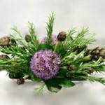Fleurs d'ail, artichauts et romarin sont toutes les trois connues et utilisées pour leurs qualités curatives.