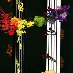M.Marguerite Dessens, des gammes de couleurs sur un montage de grande taille