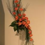 Bouquet Hogarth, genêt et roses, Concours Cannes 2008 dont le thème général était : La Mode.