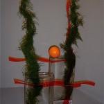 Ondulations d'Asparagus plumosus. Concours Gênes 2006 Isabelle Petitpont.