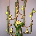 Décor sur le thème du pommier. L. Goublin, J. Rehbinder SNHF Noël 2011.