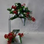 Les 2 décors d'Aspidistras et Gloriosas forment une composition festive et raffinée.